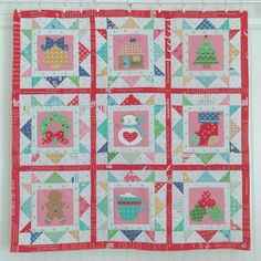 It's week nine in our Cozy Christmas Sew Along. YaY! If you're just joining us... CLICK HERE to download the free pa...