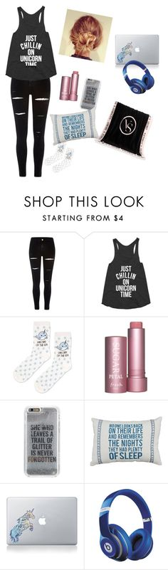 """""""Lazy Day."""" by praisedancer32211 ❤ liked on Polyvore featuring River Island, Topshop, Agent 18, Vinyl Revolution, Beats by Dr. Dre and Victoria's Secret"""