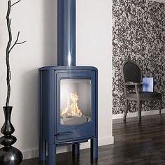 cast iron stoves | Cast iron stove - Seguin Jade contemporary stoves