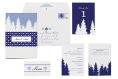 Hochzeitsmotto Winter | Design: Paper & Soul