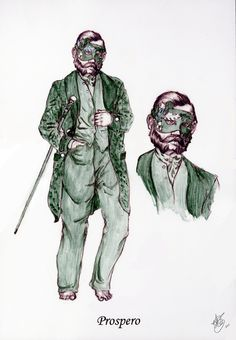 "William Shakespeare's ""The Tempest""//Costume Design on Behance"