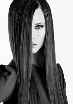 ultra-sleek hair