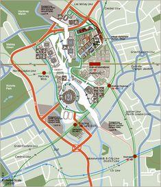 London Olympics 2012 Map - Stratford City