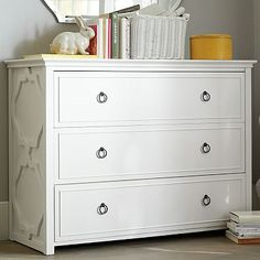 "Elsie Dresser #pbteen $699+75 surcharge, white glove delivery 47"" wide x 20"" deep x 35"" high"