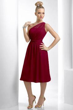 915 Bari Jay Bridesmaid Dress in Cherry (Red)