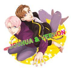Seventeen    Art    Joshua    Vernon