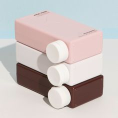 Cool design and packaging shape of Kevin Murphy hair care products. Love the colors. #modern #geometry