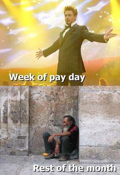 Die Woche in der der Lohn kommt - Fun Bild | Webfail - Fail Bilder und Fail Videos
