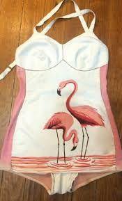 flamingo bathing suits