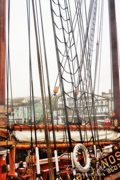 """Bluenose II "" the famous tall ship of Atlantic Canada, Lunenburg, Nova Scotia, Canada (aa) Lunenburg Nova Scotia, Atlantic Canada, O Canada, Prince Edward Island, Sail Away, New Brunswick, Quebec City, Tall Ships, Newfoundland"