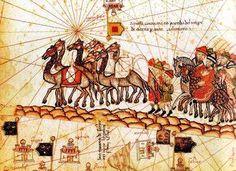La Ruta de la Seda Ruta Especias Importancia en la Edad Media Marco Polo