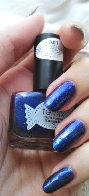 Лак для нігтів BornPrettyStore Temix Shimmer Starry Sky Polish 01 #bornprettystore #nailpolish #manicure #starrysky
