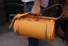 ドラム型・2wayショルダーバッグ - I don't totally understand, but I know it's beautiful. leather crossbody