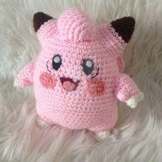 Free - Clefairy Pokemon amigurumi crochet pattern // by Her Once White Wings Cute Crochet, Crochet For Kids, Crochet Crafts, Crochet Dolls, Yarn Crafts, Crochet Projects, Pokemon Crochet Pattern, Amigurumi Patterns, Amigurumi Doll