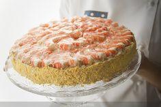 Receta de tarta de langostinos