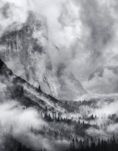 Stormy Yosemite