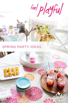 Get your girls together for this fun flower planting party. All you need are flowerpots, small shovels and flower packets. Greet guests with light apps and the scent of a Poppy Groove candle, and you'll have everyone feeling playful and ready for spring.