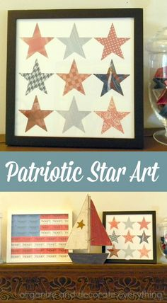 Patriotic Star Art i
