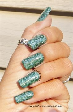 Green and gorg by DianeGraham - Nail Art Gallery nailartgallery.nailsmag.com by Nails Magazine www.nailsmag.com #nailart