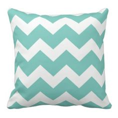Teal Chevron Print Throw Pillow See our full collection of Pretty Throw Pillows www.prettythrowpillows.com US Made by Independent Small Business Artists Teal Chevron, Chevron Throw Pillows, Doodle Art, Bedroom Decor, Doodles, Pretty, Artists, Business, Beautiful