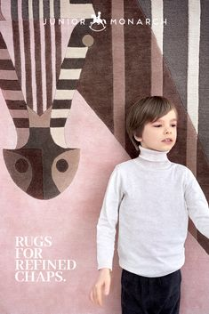 Soft to touch and warm under feet. Refined design, highest quality and ethical production makes this Junior Monarch rug an exceptional heirloom home decor piece.