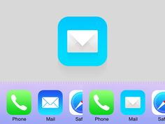 Mail - iOS7 by Johan Rundberg