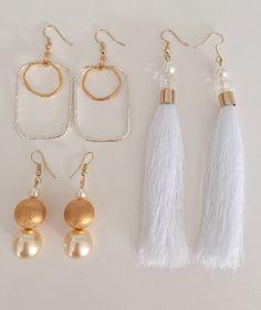 Golden Earrings, Drop Earrings, Jewelry, Bijoux, Drop Earring, Jewlery, Jewels, Jewelery, Jewerly