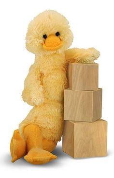 Longfellow Duck Stuffed Animal *Perfect Easter Basket stuffer...