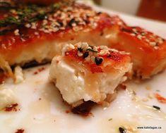 Feta Cheese in Phyllo With Mastiha, Sesame, Thyme & Honey