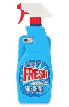Moschino Spray Bottle iPhone 6 & 6s Case available at #Nordstrom