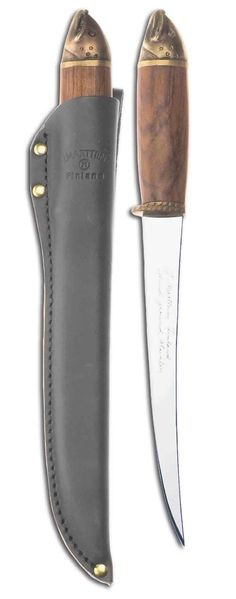 Salmon filleting knife in a wooden gift box - Marttiini