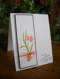 Love and Sympathy by stampin'nana - Cards and Paper Crafts at Splitcoaststampers