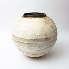Contemporary Ceramics Centre - Pyrite Jar 14 (2016) - Adam Buick Porcelain Ceramics, Ceramic Pottery, Ceramic Art, Moon Jar, Kitchenware, Tableware, Contemporary Ceramics, Pottery Ideas, Clay Art