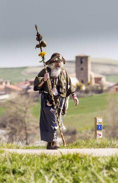 Camino de Santiago a su paso por la provincia de Burgos. Pilgrim, Camino De Santiago