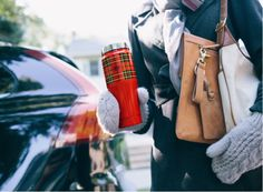 The colder the commute, the more hot coffee you need.