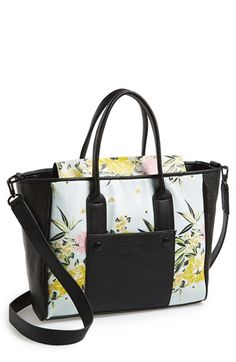 French Connection 'Medium Mod Squad' Faux Leather Tote