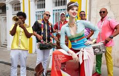 Cuban Carnival (Vogue Taiwan)