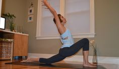 Low Lunge - Back Bend