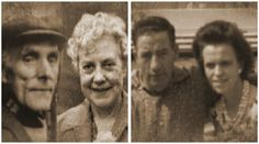 My Grandparents - Ethel Jackson and Ernest Drain, George Weir and Ada Drain (Broomhead)
