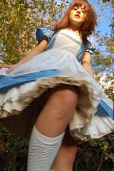 Alice In Wonderland Upskirt 90