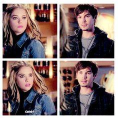 "#PL 5x05 ""Miss Me x 100"" - Hanna and Caleb"