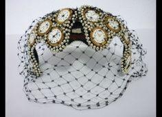 Tick Tock......Rare Vintage Bes-Ben Clock Hat