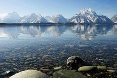 Wyoming's spectacular Teton Mountains