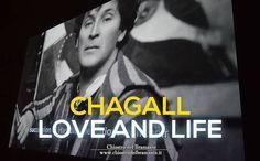 """""""Le luci di Chagall risplendono ancora, di colui che non è mai stato un'artista tormentato, anzi ha mantenuto fino alla fine della sua lunga esistenza ottimismo e gioia di vivere"""", Bella Rosenfeld #ChagallRoma #LoveAndLife"""