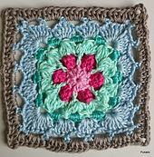 Ravelry: Crochet Mood Blanket 2014 - September Square by Pukado pattern by Patricia Stuart