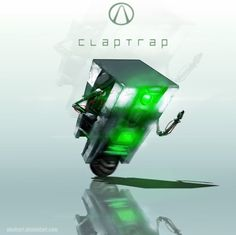 Claptrap by AbelVera #Borderlands