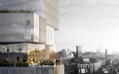 Studio Seilern Architects Unveils Plans for Skyscraper in Manhattan's Art Quarter,Courtesy of Studio Seilern Architects (SSA)