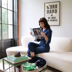 Self-made - having graced the cover of Forbes 'America's richest self-made women' edition, Sophia Amoruso knows being a boss means hard work, while managing your team with kindness.