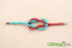 Simple Sailor Knot Bracelet Making with Turquoise and Pearl Beads Bead Jewellery, Beaded Jewelry, Jewelry Bracelets, Diy Jewelry, Jewlery, Making Bracelets With Beads, Bracelet Making, Sailor Knot Bracelet, Simple Jewelry