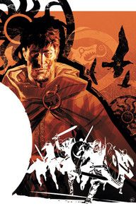 """In this first volume collecting NORTHLANDERS #1-8,  writer Brian Wood stabs Viking lore in the face with a fresh take on what it means to be a warrior. Meet Sven, an exiled Viking prince who must return to the desolate lands of his birth to reclaim his vast inheritance upon the death of his father. See why Entertainment Weekly calls it """"a well-reserched, richly realized world that illuminates politics and culture without getting bogged down in history-book stuff."""""""
